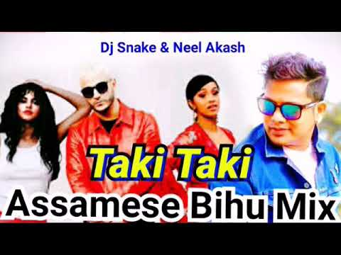 Taki Taki || Assamese Bihu Mix || Dj Snake & Kusum Koilash Rap || Neel Akash Bihuwan Mix