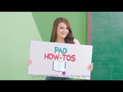 Pad How-Tos | Charmee #PeriodFeels