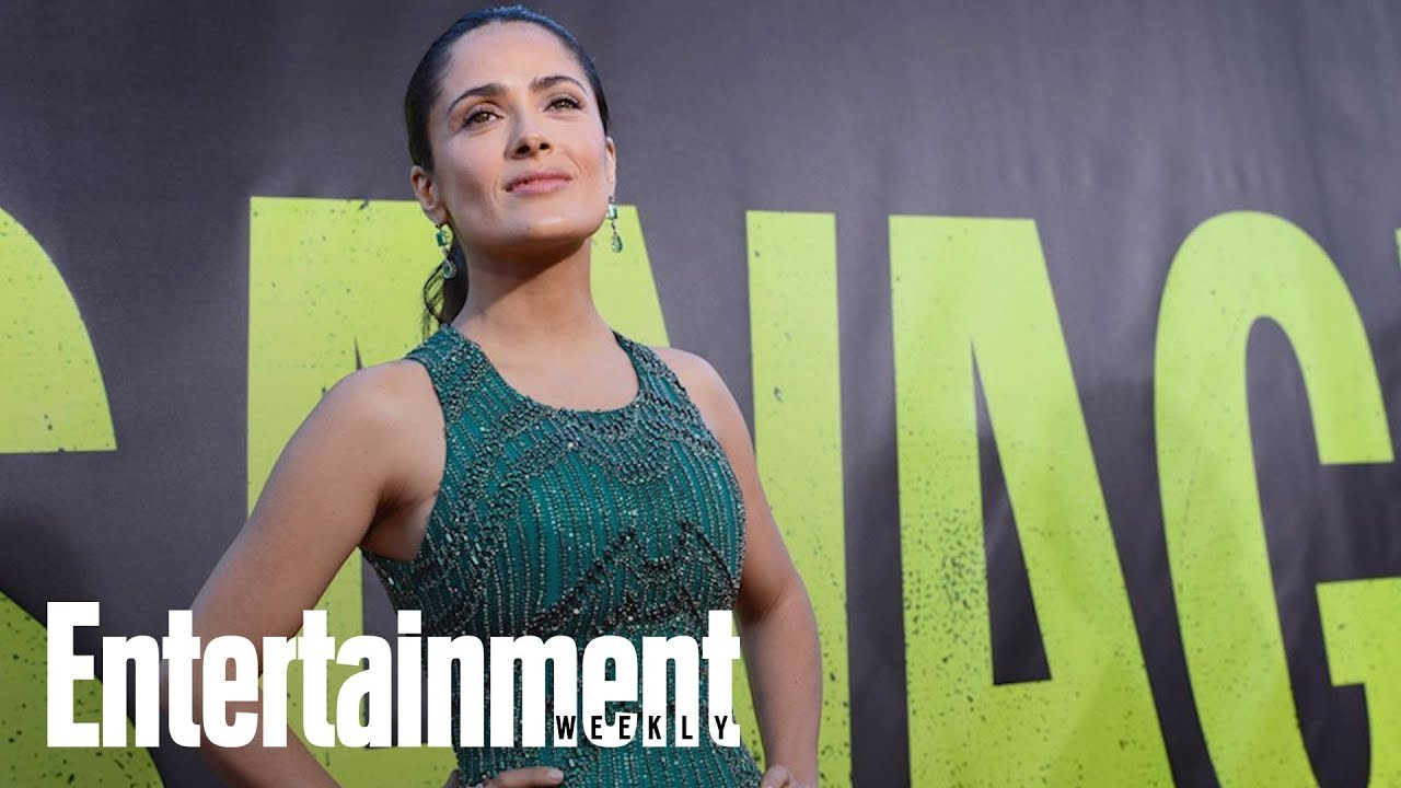 Salma Hayek claims Harvey Weinstein threatened to kill her