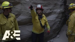 Live Rescue: Stranded Hiker Saved From Canyon (Season 1) | A&E