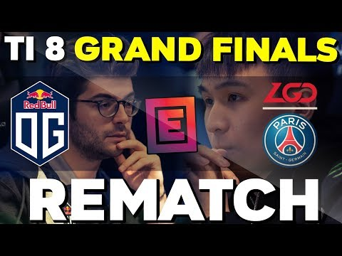 OG Vs PSG.LGD - TI8 GRAND FINALS REMATCH !! EPICENTER MAJOR 2019 ELIMINATION - Dota 2