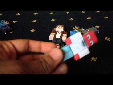 My Minecraft Papercraft Collection