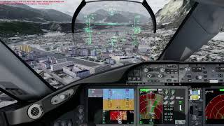 [P3Dv4] Extreme Appr EP7 Innsbruck LOWI/INN LOC R 26