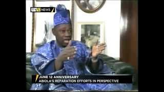 Nigeria's Moshood Abiola's reparation efforts in perspective