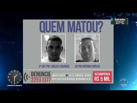 Dois policiais militares foram mortos no fim de semana no Rio | SBT Notícias (30/04/18)