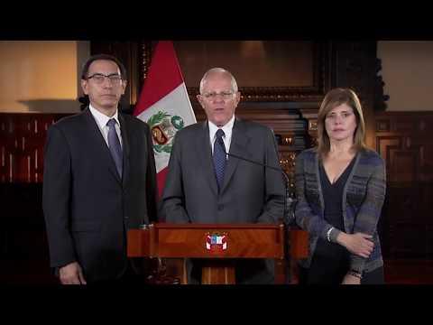 Perú, Mensaje a Nación del presidente de República, Pedro Pablo Kuczynski
