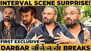 DARBAR Climax Fight Scene Making - Suniel Shetty Reveals Unheard Secrets! SUPER EXCLUSIVE INTERVIEW