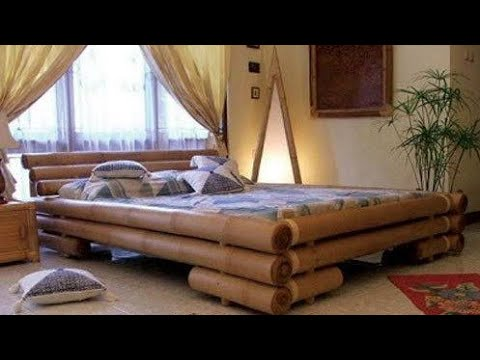 Bamboo Furniture Bamboo Bed Design Ideas Bamboo Bed Design Bamboo Bed Youtube