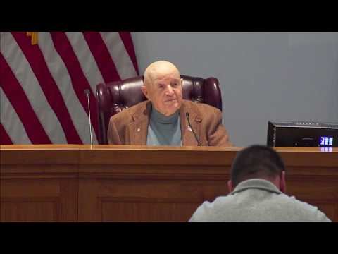 Pike County Fiscal Court Meeting - December 4, 2018