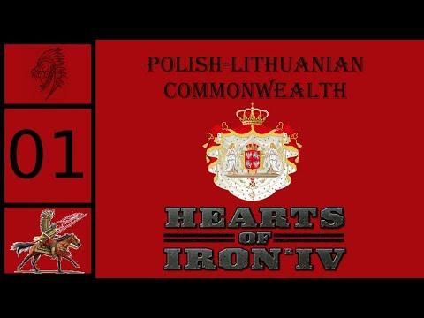 Hearts of Iron IV (HOI4) - Death or Dishonor - Uniting Poland and Lithuania #1