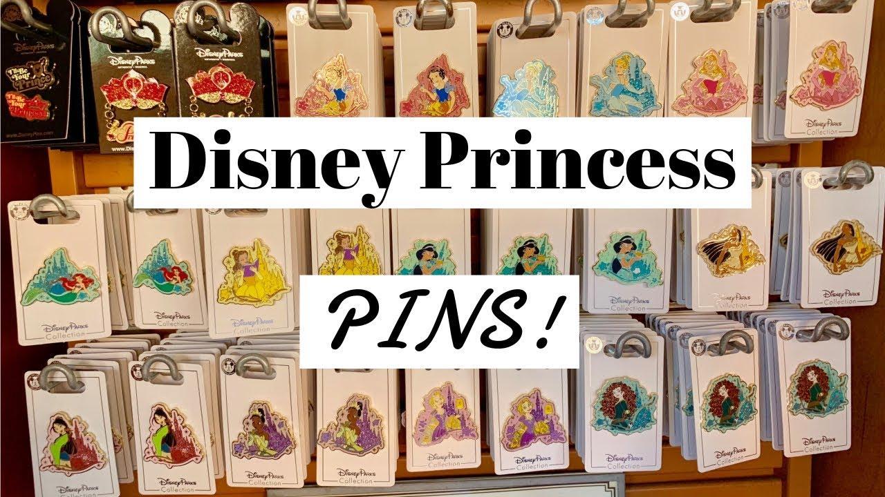 NEW Disney Princess Pins at Disney Parks!   2018
