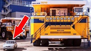 ТОП 5 САМЫХ БОЛЬШИХ МАШИН В МИРЕ. Самые большие авто в мире