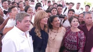 Entrega Gobernadora nuevas instalaciones de Cecyte Sonora San Pedro El Saucito