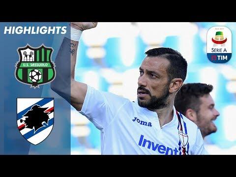 Sassuolo 3-5 Sampdoria | Quagliarella Adds to FIVE Goals in Away Win! | Serie A
