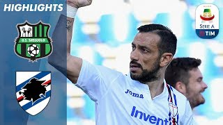 Sassuolo 3-5 Sampdoria | Quagliarella Adds to FIVE Goals in Away Win! | Serie A