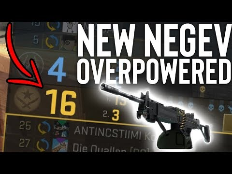 IS THE NEW NEGEV OVERPOWERED!? (NEGEV UPDATE)