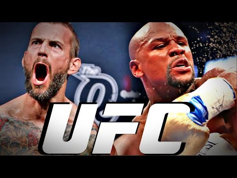 CM Punk Odds Favorite To BEAT Floyd Mayweather In MMA?!?!?