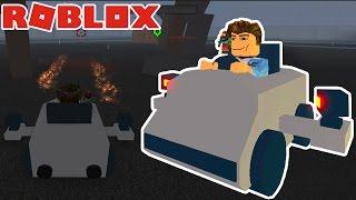 Roblox | TIROTEIO DRIVER-Rocket kart ofensiva | KiA Pham