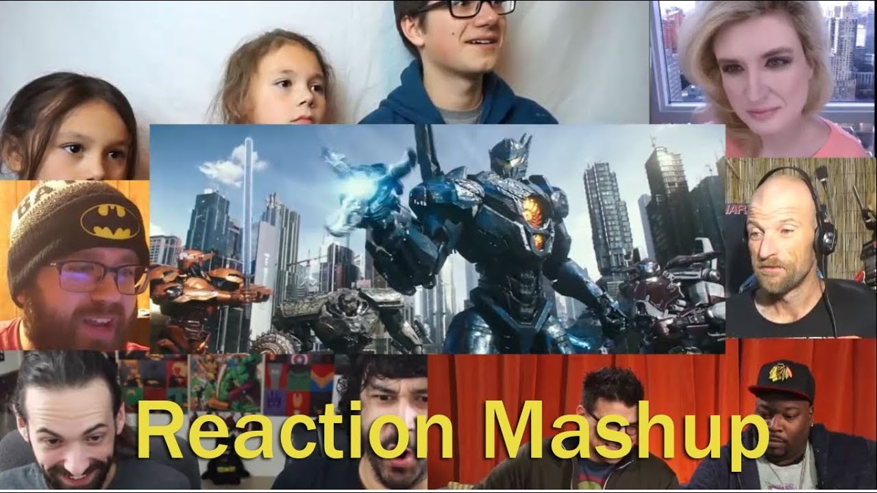 Pacific Rim Uprising Trailer 2 REACTION MASHUP