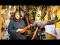 Luthier Lazzara: violin make in a six square metre lutherie shop