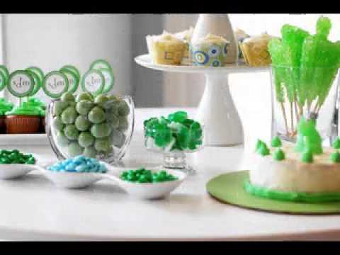 DIY Baby boy birthday party decorating ideas YouTube