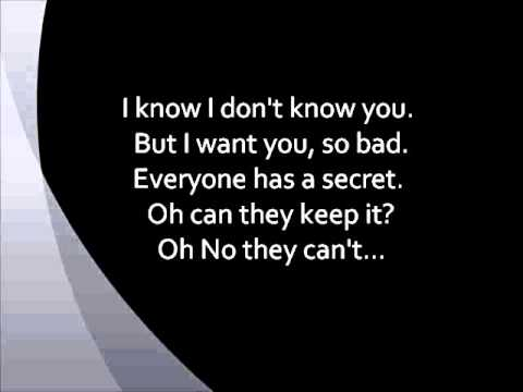Maroon 5 - Secret (w/ Lyrics)