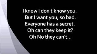 Maroon 5 - Secret (w/ Lyrics)