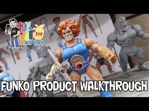 Funko Product Walkthrough at New York Toy Fair 2018 - Pop Savage World Mystery Minis More