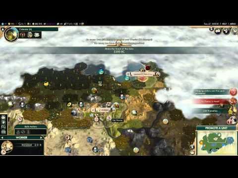 Wynn in Civilization 5 Zulu Campaign (3): Barbie Hunting!