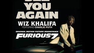 See you again (feat. Charlie Puth) - Wiz Khalifa (Karaoke- Lyrics Version)