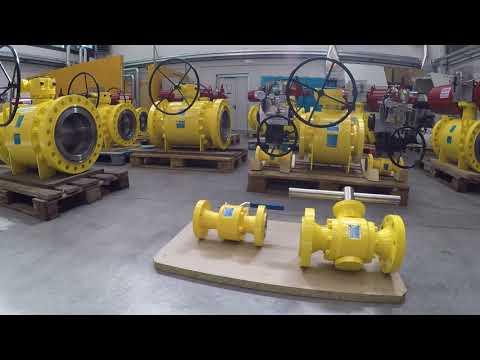 Cam Valves - Trunnion ball valves with Rotork Fluid - 2