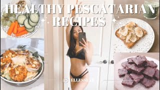 WHAT I EAT IN A DAY as a pescatarian VLOG