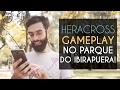 Heracross no Parque do Ibirapuera    Gameplay da 2ª Geração do Pokémon GO