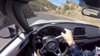 2016 Mazda Miata MX-5 Club - WR TV POV Canyon Drive