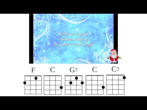 Here Comes Santa Claus Ukulele Playalong