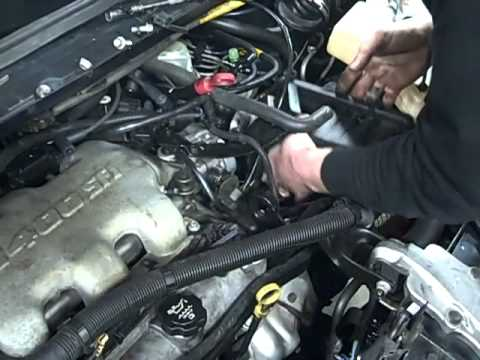 2001 Chevy Malibu Engine Diagram Rule Float Switch Wiring Venture Van Tune Up - Youtube