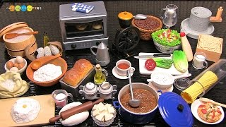 ORCARA Miniature Cooking With The Master 調理道具のミニチュア 全8種類 thumbnail