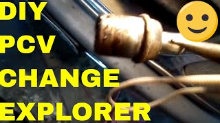 Tips On Replacing The  PCV  On A Ford Explorer