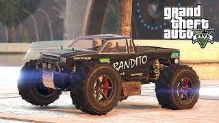 "MONSTER TRUCK ZABAWKA NA ARENIE! GTA 5 Online Hogaty i EKIPA ""BANDITO Z SAN ANDREAS!"" #281"