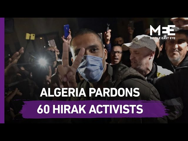 Algerian activists released ahead of Hirak anniversary