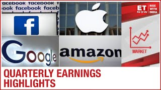 Facebook, Amazon, Apple, Google & Twitter post quarterly earnings | ET NOW Reports