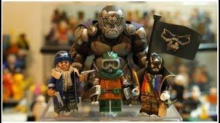CUSTOM LEGO FLASH VILLAINS PART 3: Mirror Master, Captain Boomerang, Rainbow Raider, Gorilla Grodd