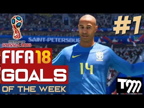 Fifa 18 WORLD CUP - TOP 10 GOALS OF THE WEEK #1 (Fifa World Cup)