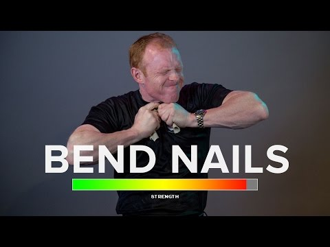 Rip Phonebooks in Half & Bend Nails: How-To Guide with a Pro Strongman