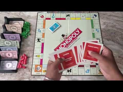 How To Play Monopoly Game In Hindi   India   HD