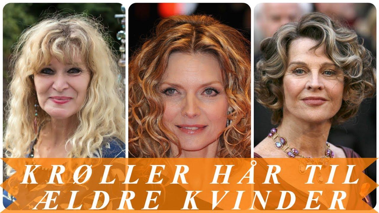 Til ældre kvinder frisurer Flatterende frisurer