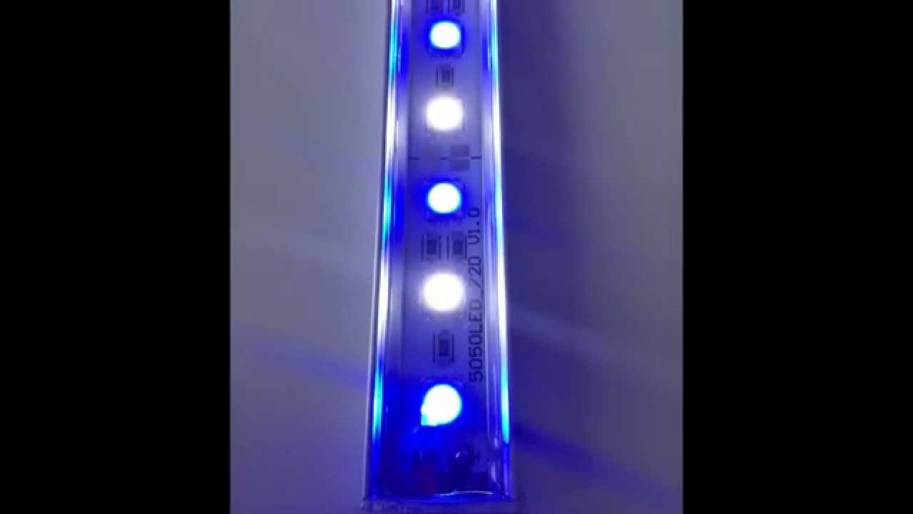HVP AQUA - aquarium verlichting - YouTube