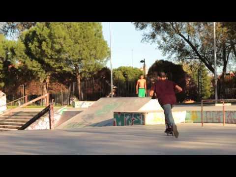 Blackduck94-skatepark la chopera scooter sesion: David.