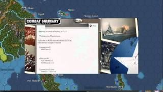 War in the Pacific Day By Day Video turn Part 1/3