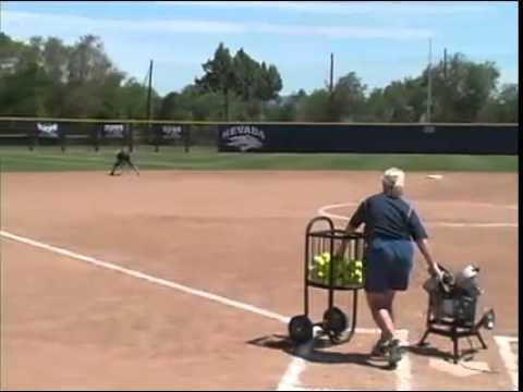 Fungo Drills: Hack Attack Softball Pitching Machine